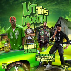 Lit This Month (October 2016) DJ Testarosa front cover