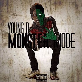 Young D - Monster Mode Dj RedFx front cover