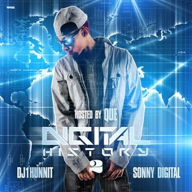 Digital History 2 (Hosted By Que) Sonny Digital front cover