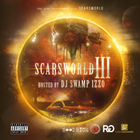 scars world 3 DJ Swamp Izzo front cover