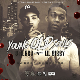 LIL BIBBY & G HERBO - YOUNG OLD SOULS DJ DERRICK GEETER front cover