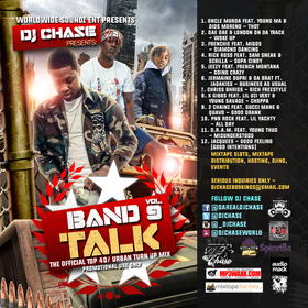 Band Talk Vol. 9 DJ Chase front cover