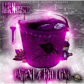 "MRN KiddFinesse ""Patient 4 Too Long"" MellDopeAF front cover"