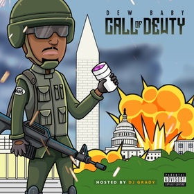 Call Of Dewty Dew Baby front cover