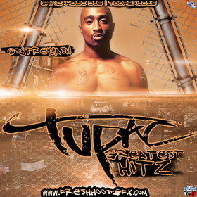 2pac [Greatest Hitz] Dj Trey Cash front cover