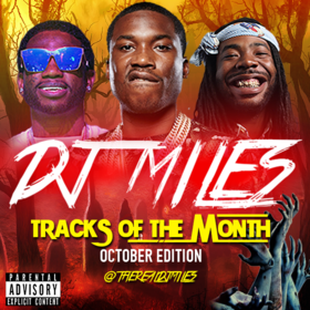 Tracks of the Month (October Edition) (2016) DJ Miles front cover