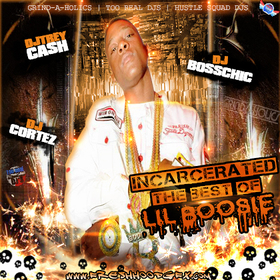 Incarcerated (The Best Of Lil Boosie) Dj Trey Cash front cover