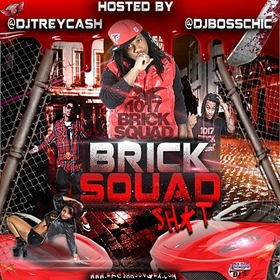 Brick Squad Shit Dj Trey Cash front cover