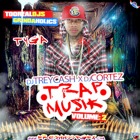 Trap Musik Vol. 2 Dj Trey Cash front cover