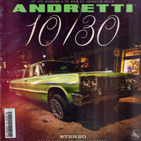 Andretti 10/30 Curren$y front cover