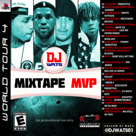 World Tour 4 DJ Wats front cover