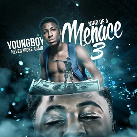 Mind Of A Menace 3 NBA YoungBoy front cover