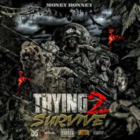 Trying To Survive Vol. 2 BC Money Ronney front cover