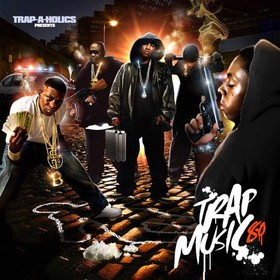 Trap Music 8.0 Trap-A-Holics front cover