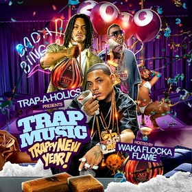 Trap Music (Trappy New Year!) Trap-A-Holics front cover
