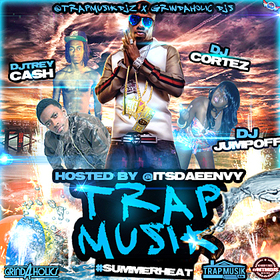 Trap Musik #Summerheat Dj Trey Cash front cover