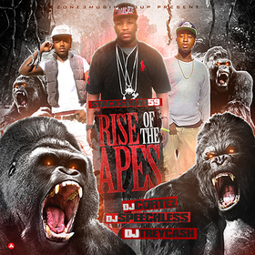 Rise Of The Apes Dj Trey Cash front cover