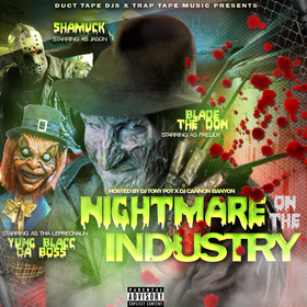Nightmare On The Industry Dj Tony Pot front cover