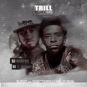 Trill Tapes # 4  DJ Wispas front cover