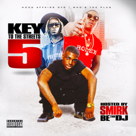 Key To The Streets 5 DJ Smirk front cover