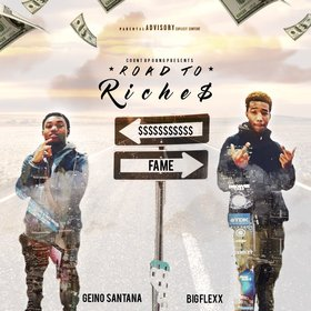 Road To Riches Official CountUp Gang front cover