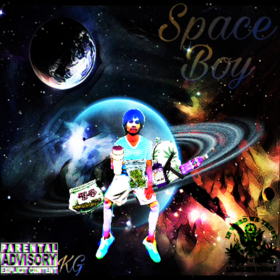 Space Boy Young D front cover
