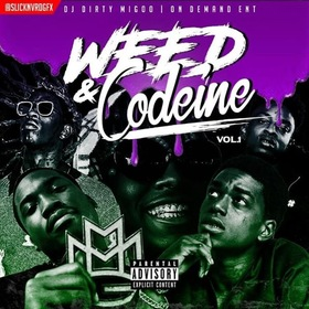 Weed & Codeine Vol.1 DJ Big Migoo front cover