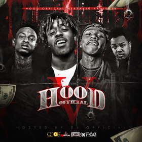 Hood Official Vol. 5 DJ Official front cover
