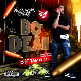 Shit Talkin 101 BoDean front cover