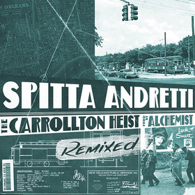 The Carrollton Heist Remixed Curren$y front cover