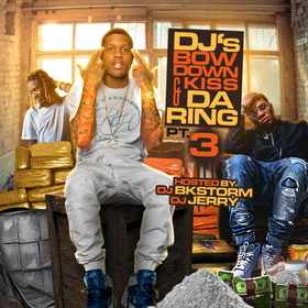 DJ's Bow Dow & Kiss The Ring Pt. 3 DJ BkStorm front cover