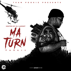My Turn Hosted By RJ Lamont Pookie front cover
