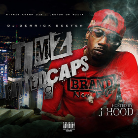 TIMZ N FITTED CAPZ 9 ( HOSTED BY J-HOOD) DJ DERRICK GEETER front cover