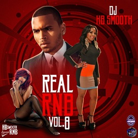 Real RNB 8 DJ HB Smooth front cover