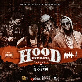 Hood Official Vol. 6 DJ Official front cover