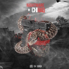 Nightmare In Chiraq DJ Milticket front cover