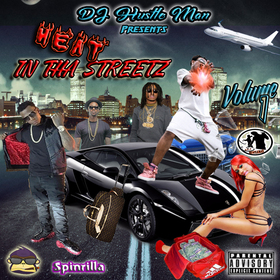 Heat In Tha Streetz: Volume 1 Dj Hustle Man front cover