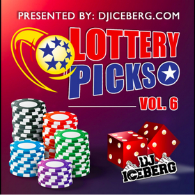2016 Lottery Picks Vol. 6 DJ Iceberg front cover