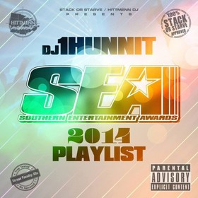 SEA 2014 Playlist DJ 1Hunnit front cover