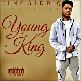 Young King EP King Siddiq front cover