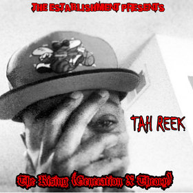 The Rising :Generation X Theory TAH REEK (NC's own) front cover