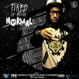 Tired Of Being Normal Roc Kartel front cover