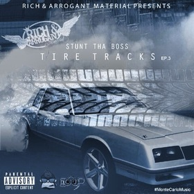 Tire Tracks  Stunt Tha Boss front cover