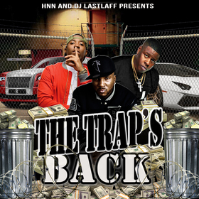 the Trap's Back The Dj last laff front cover