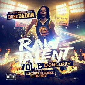 Raw Talent Vol 2 Duke the Don DSMG front cover