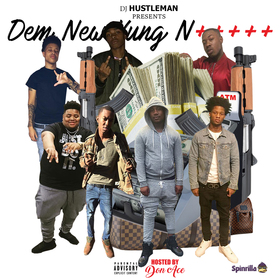Dem New Yung N+++++ Dj Hustle Man front cover