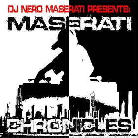 MASERATI CHRONICLES DJ Nero Maserati front cover