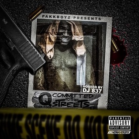 Committed To The Streets Q Da Fool front cover