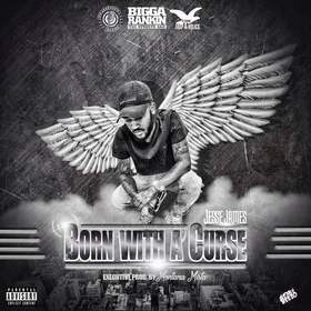Born With A Curse Jessiee James front cover
