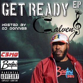 Get Ready EP Calven J front cover